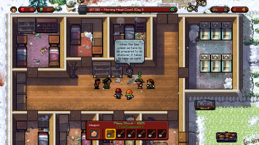 Screenshot 7 - The Escapists: The Walking Dead