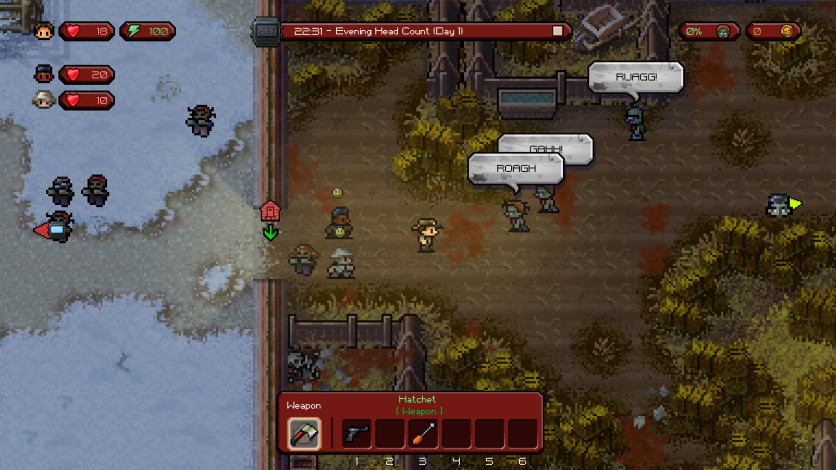 Screenshot 5 - The Escapists: The Walking Dead