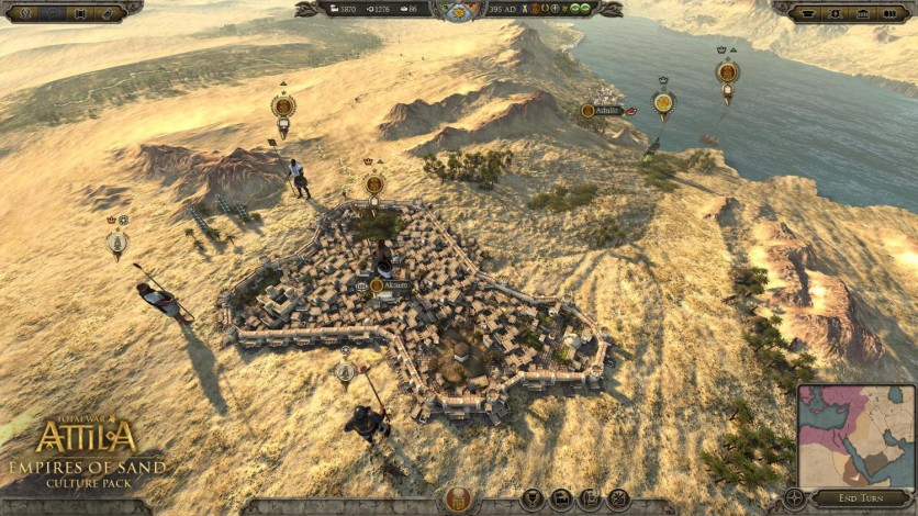 Screenshot 1 - Total War: ATTILA – Empires of Sand Culture Pack