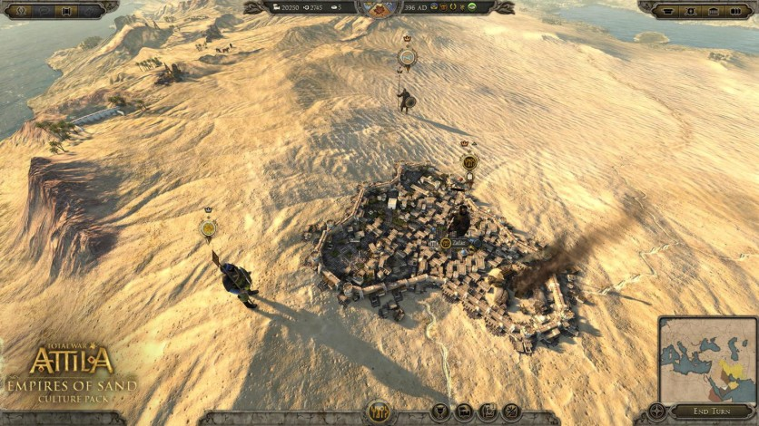 Screenshot 3 - Total War: ATTILA – Empires of Sand Culture Pack