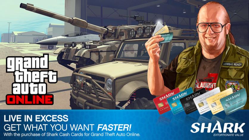 Screenshot 1 - GTA Online: Great White Shark Cash Card