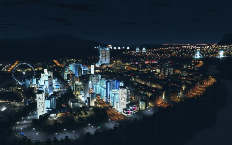 Screenshot 5 - Cities: Skylines - After Dark