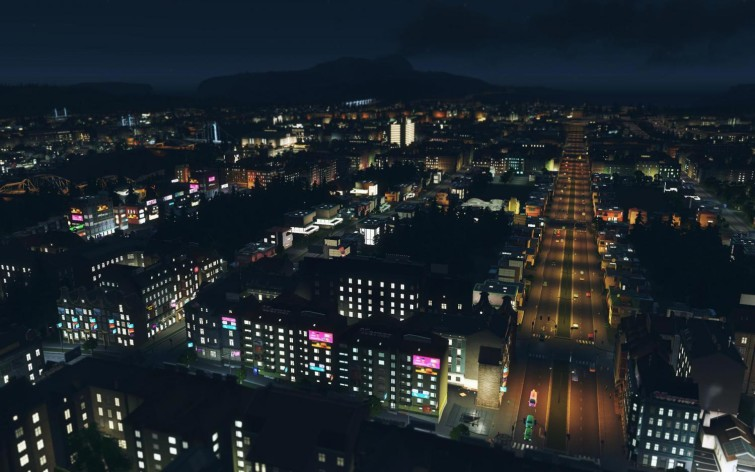 Screenshot 2 - Cities: Skylines - After Dark