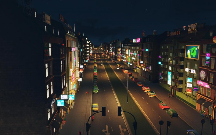 Screenshot 7 - Cities: Skylines - After Dark