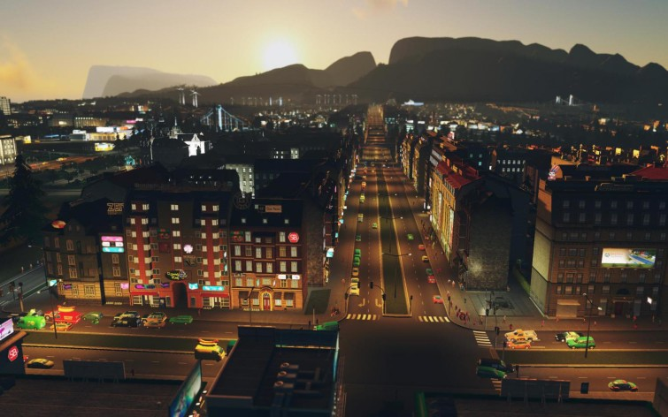 Screenshot 3 - Cities: Skylines - After Dark