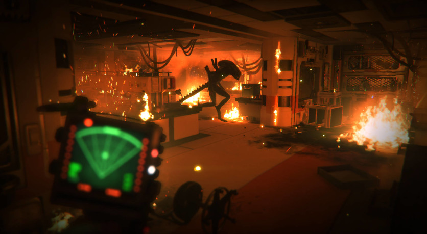 Screenshot 1 - Alien: Isolation - Corporate Lockdown