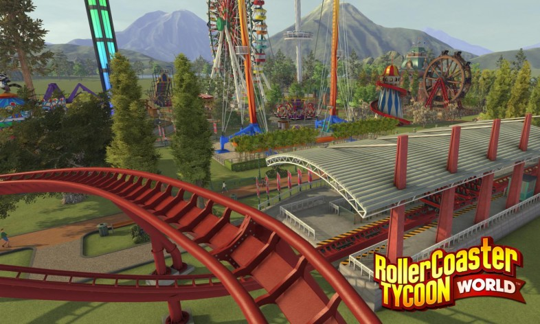 Screenshot 2 - RollerCoaster Tycoon World