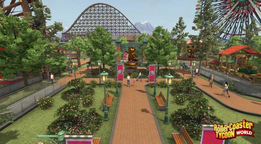 Screenshot 3 - RollerCoaster Tycoon World - Deluxe Edition