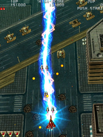 Screenshot 2 - Raiden III Digital Edition