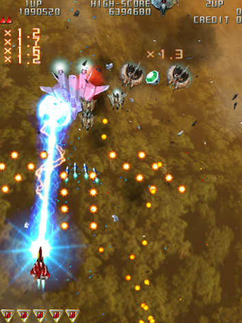 Screenshot 11 - Raiden III Digital Edition