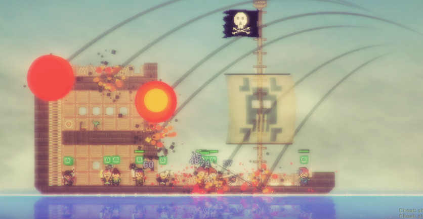 Screenshot 17 - Pixel Piracy