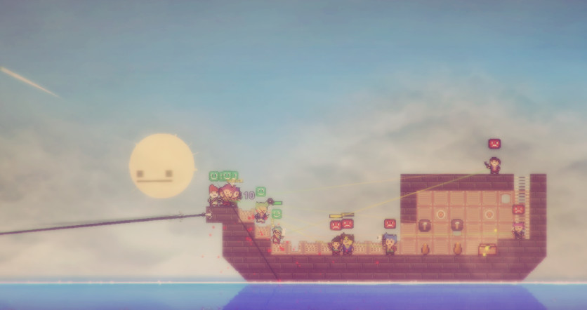 Screenshot 3 - Pixel Piracy