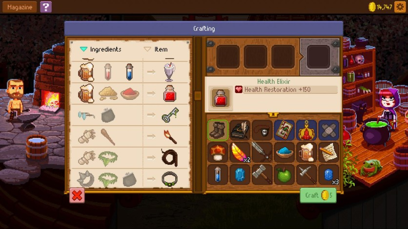 Screenshot 6 - Knights of Pen and Paper 2