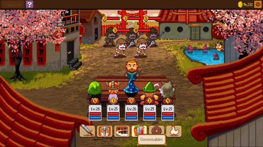 Screenshot 7 - Knights of Pen and Paper 2