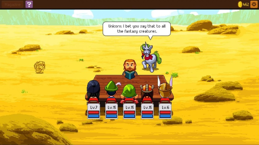 Screenshot 11 - Knights of Pen and Paper 2