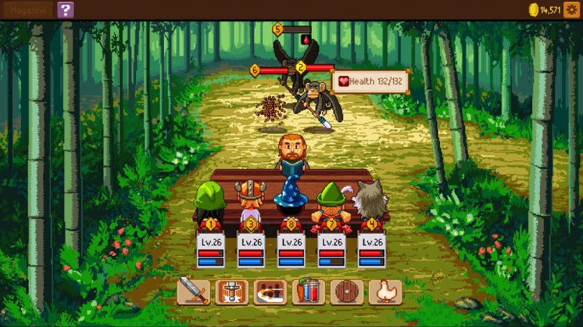 Screenshot 3 - Knights of Pen and Paper 2
