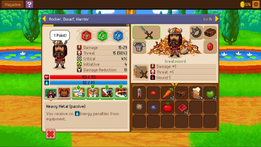 Screenshot 9 - Knights of Pen & Paper 2 Deluxe Edition