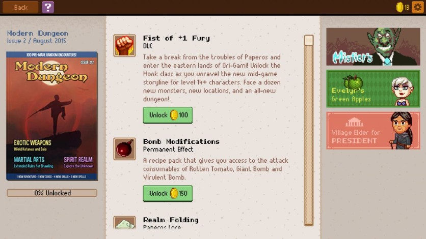 Screenshot 4 - Knights of Pen & Paper 2 Deluxe Edition