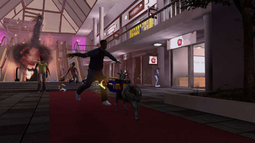 Screenshot 2 - Goat Simulator: GoatZ