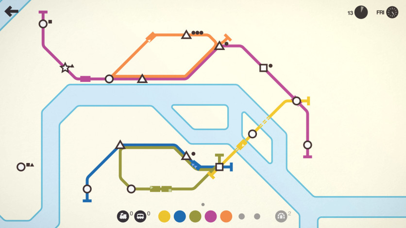 Screenshot 6 - Mini Metro