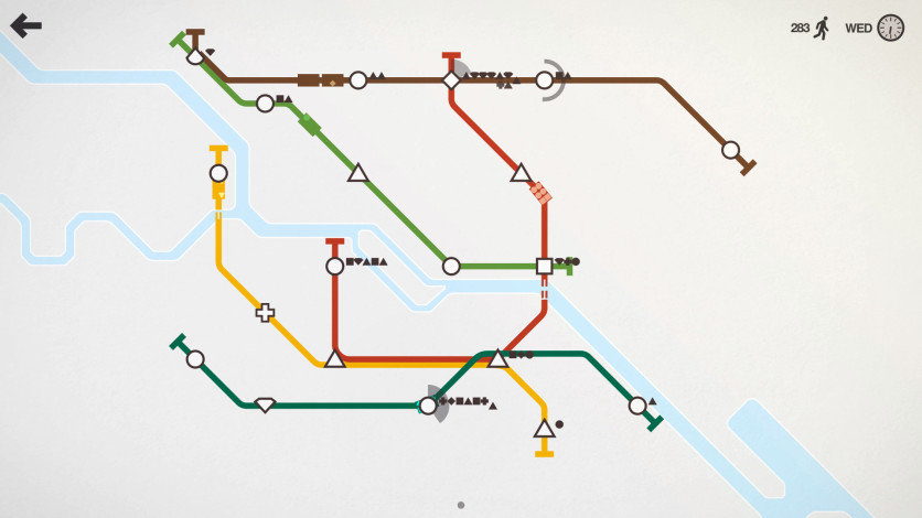 Screenshot 7 - Mini Metro