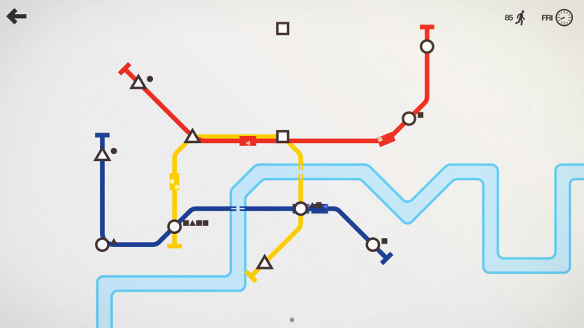 Screenshot 2 - Mini Metro