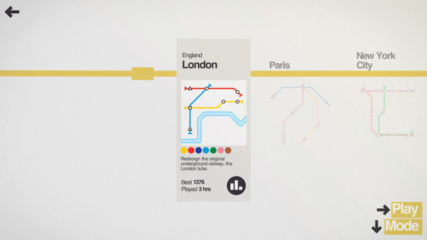 Screenshot 3 - Mini Metro