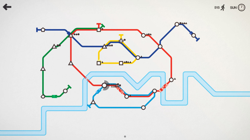 Screenshot 4 - Mini Metro