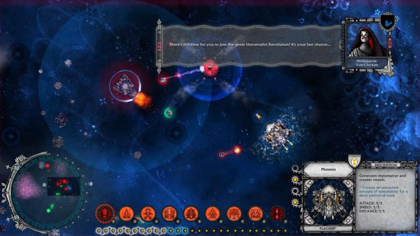 Screenshot 2 - Conflicks - Revolutionary Space Battles