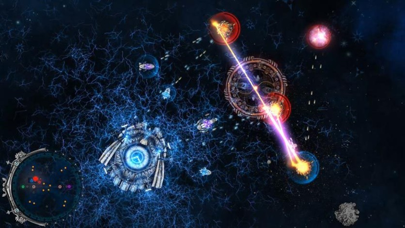 Screenshot 4 - Conflicks - Revolutionary Space Battles
