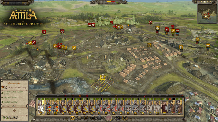 Screenshot 2 - Total War: ATTILA – Age of Charlemagne Campaign Pack