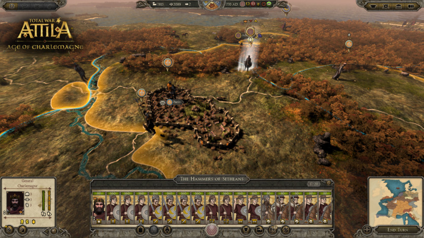 Screenshot 9 - Total War: ATTILA – Age of Charlemagne Campaign Pack