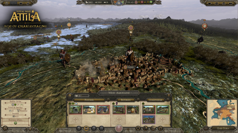 Screenshot 3 - Total War: ATTILA – Age of Charlemagne Campaign Pack
