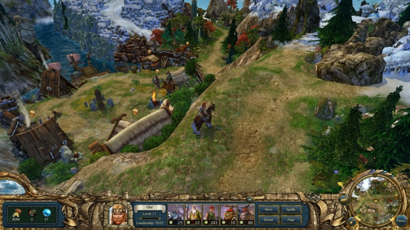 Screenshot 2 - King's Bounty: Warriors of the North Valhalla Edition