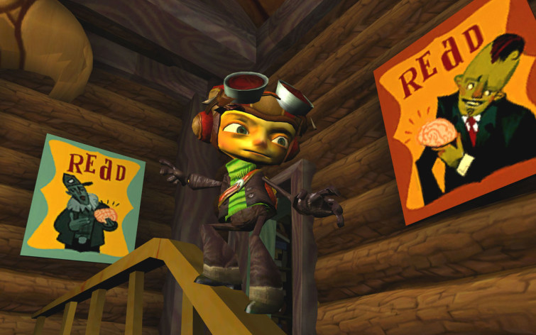 Screenshot 7 - Psychonauts
