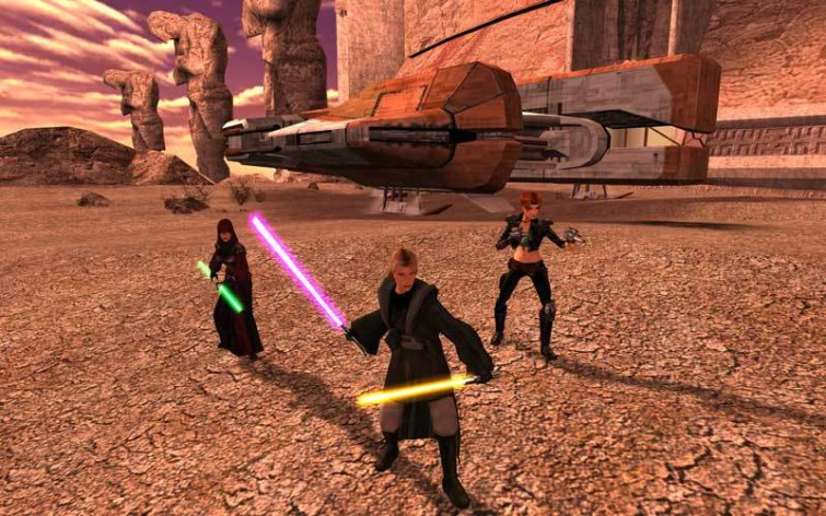 Screenshot 8 - Star Wars: Knights of the Old Republic II - The Sith Lords