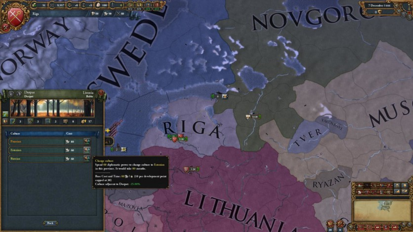 Screenshot 3 - Europa Universalis IV: Cossacks
