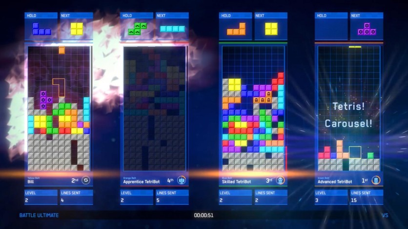 Screenshot 3 - Tetris Ultimate