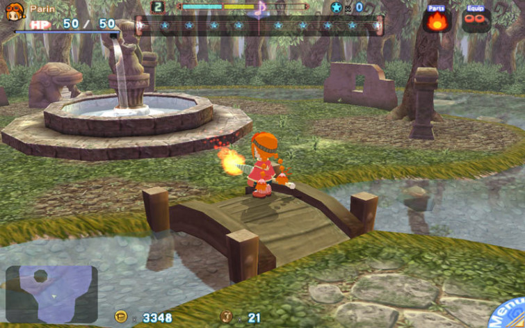 Screenshot 2 - Gurumin: A Monstrous Adventure