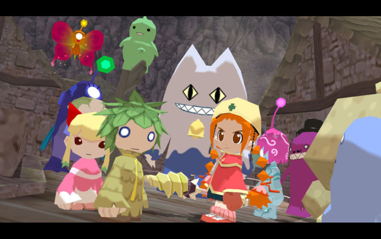 Screenshot 6 - Gurumin: A Monstrous Adventure