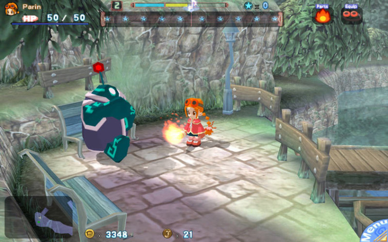 Screenshot 8 - Gurumin: A Monstrous Adventure