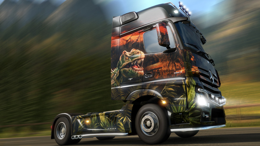 Screenshot 1 - Euro Truck Simulator 2 - Prehistoric Paint Jobs Pack