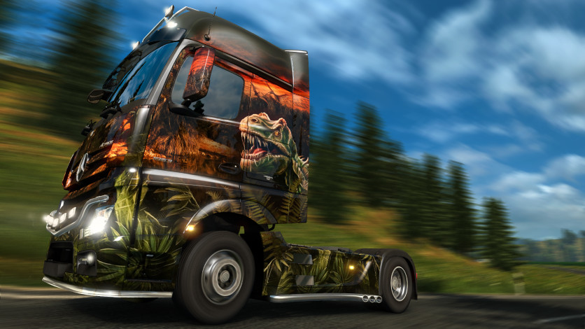 Screenshot 7 - Euro Truck Simulator 2 - Prehistoric Paint Jobs Pack