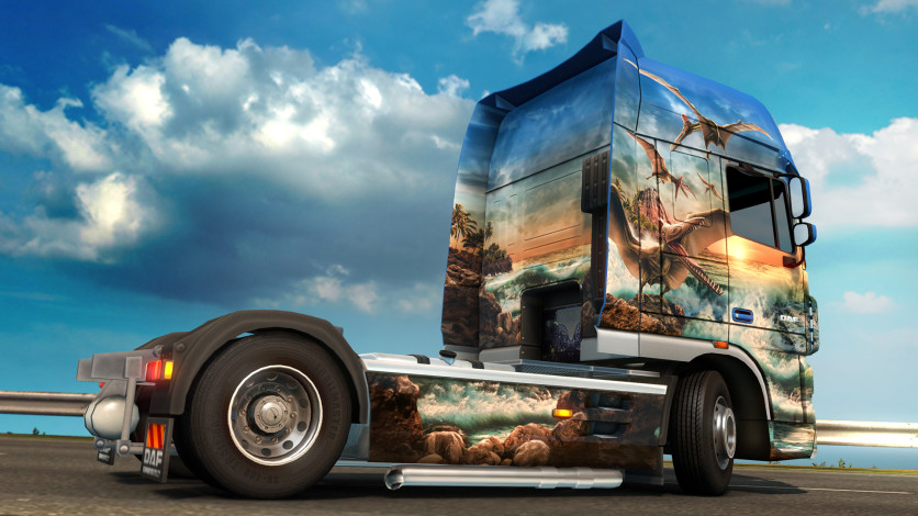 Screenshot 3 - Euro Truck Simulator 2 - Prehistoric Paint Jobs Pack