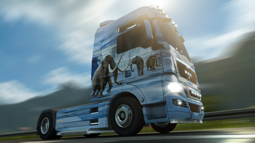 Screenshot 2 - Euro Truck Simulator 2 - Prehistoric Paint Jobs Pack