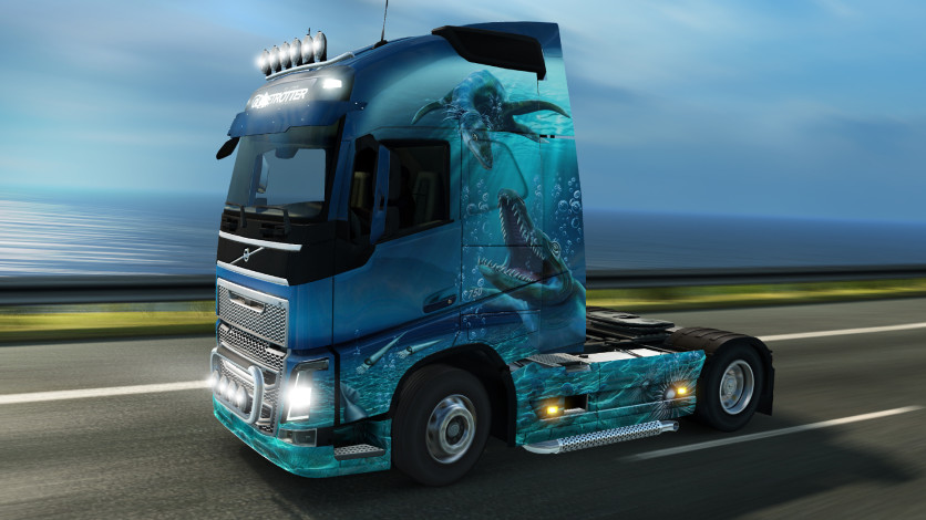 Screenshot 4 - Euro Truck Simulator 2 - Prehistoric Paint Jobs Pack