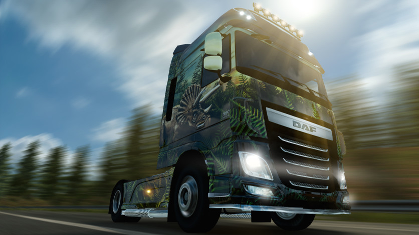 Screenshot 5 - Euro Truck Simulator 2 - Prehistoric Paint Jobs Pack