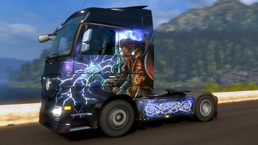 Screenshot 2 - Euro Truck Simulator 2 - Viking Legends