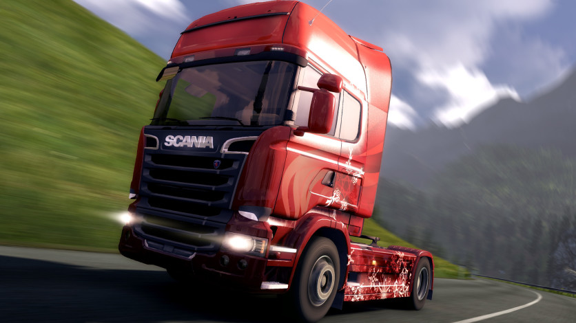 Screenshot 4 - Euro Truck Simulator 2 - Christmas Paint Jobs Pack