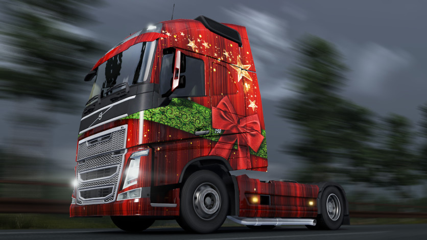 Screenshot 5 - Euro Truck Simulator 2 - Christmas Paint Jobs Pack